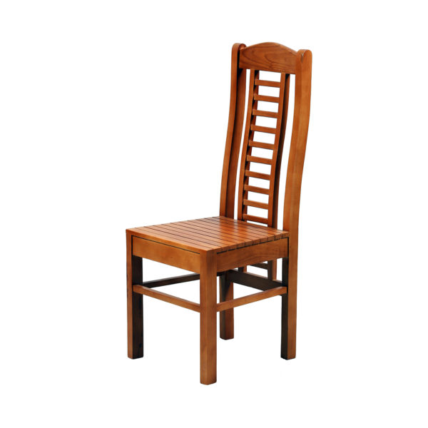 Aglee Dining Chair Teak Wood by Nache Woods.