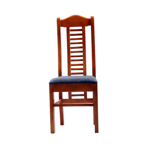 Aglee Cushion seat Dining Chair Teak Wood by Nache Woods.