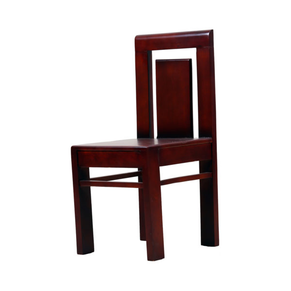 Mimi Dining Chair Mahogany Wood by Ansne Furniture.
