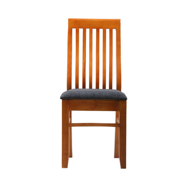 S back Dining Chair Teak Wood by Ansne Furniture.