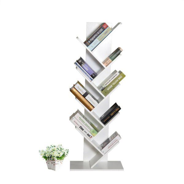 Tree Bookshelf White by Skye Interio.