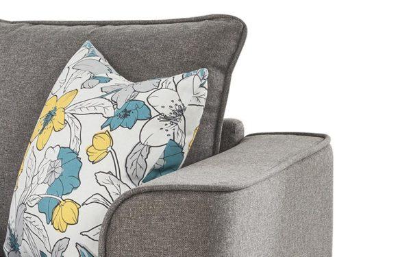 Burset Two Seater Sofa In Fabric