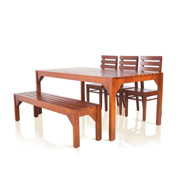Swanson 6 seater Teakwood Dining Set