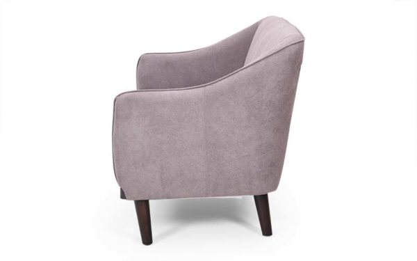 Dyer Three Seater Suede Fabric Sofa