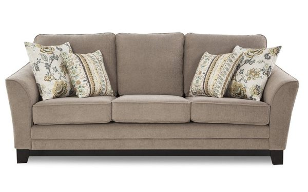 Laverne Three Seater Sofa In Fabric