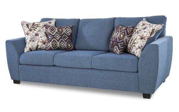 Leyva Three Seater Sofa In Fabric
