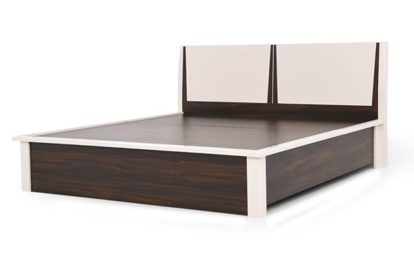 Mamoa King Size Bed With Hydraulic Storage in High Gloss Finish.