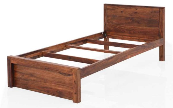 Maura Single Bed Without Storage in Sheesham Wood