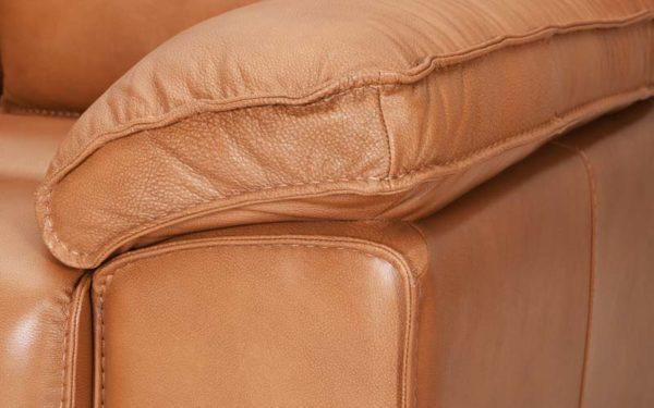 Alquist Single Seater Genuine Leather Sofa