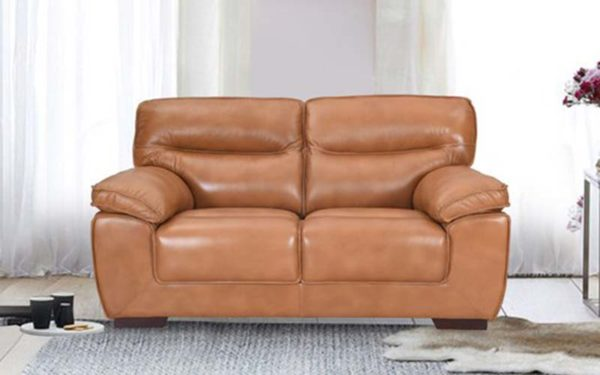 Alquist Two Seater Genuine Leather Sofa