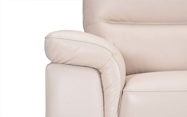 Asa Single Seater Sofa in Genuine Leather