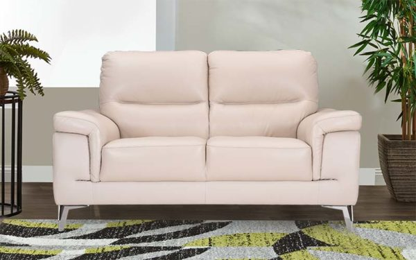 Asa Two Seater Sofa in Genuine Leather