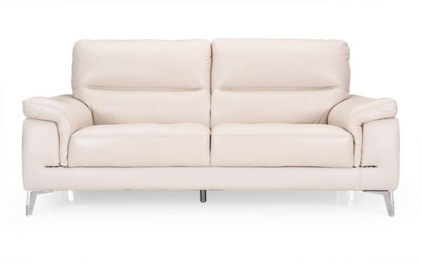Asa Three Seater Sofa in Genuine Leather