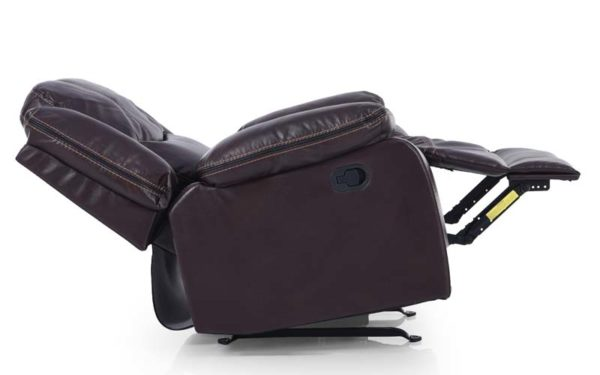 Badger Single Seater Manual Recliner in Leatherette