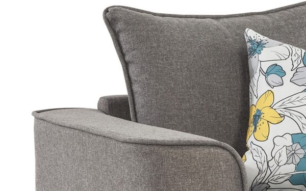 Burset Single Seater Sofa In Fabric