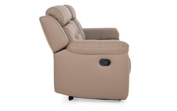 Dean Three Seater Recliner With Genuine Leather