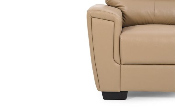 Finn Three Seater Sofa With PU Leather