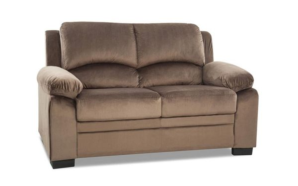 Gaten Two Seater Sofa in Rich Fabric