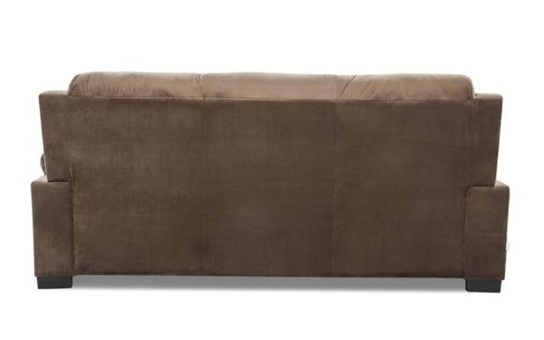 Gaten Three Seater Sofa in Rich Fabric
