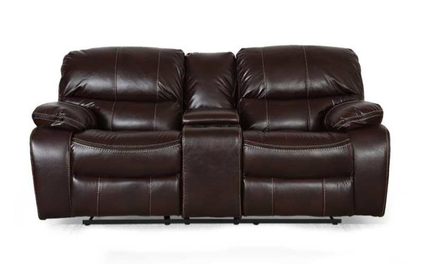 Gus Two Seater Automatic Recliner in Leatherette