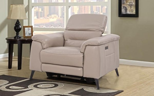 Hank Single Seater Recliner With Genuine Leather