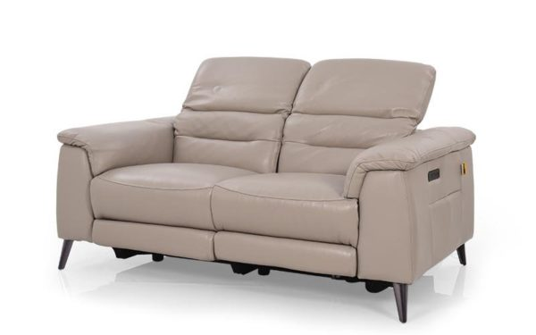 Hank Two Seater Recliner With Genuine Leather