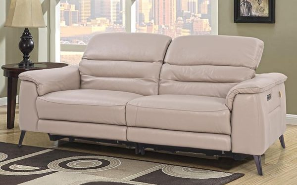 Hank Three Seater Recliner With Genuine Leather