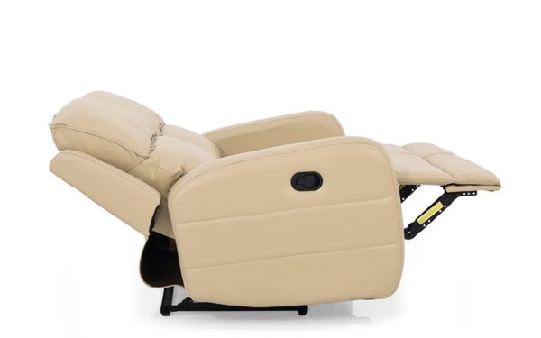 Jane Two Seater Recliner with Leatherette