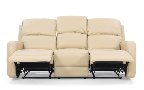 Jane Three Seater Recliner With Leatherette