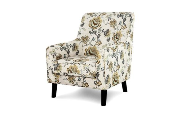 Laverne Single Seater Sofa In Fabric