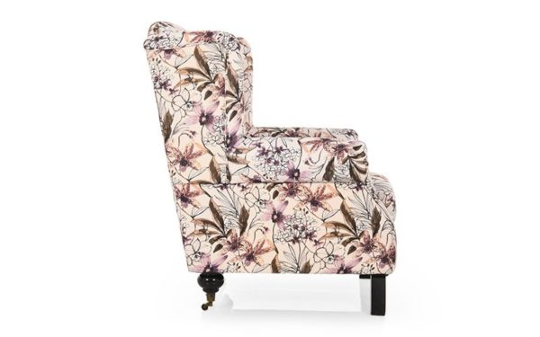 Leyva Single Seater Sofa in Fabric