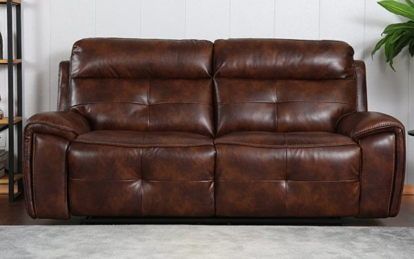 Lydia Three Seater Manual Recliner in Leatherette