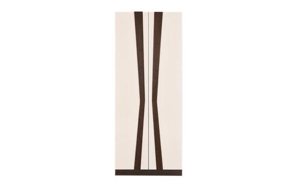 Mamoa 2 Door Wardrobe with High Gloss Finish