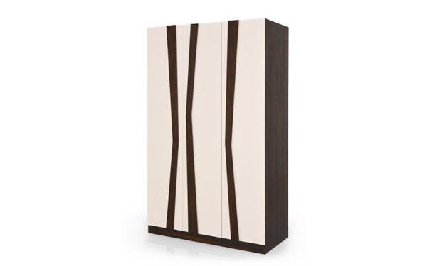 Mamoa 3 Door Wardrobe with High Gloss Finish