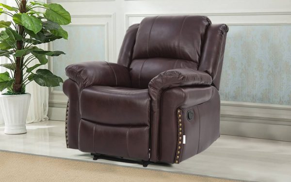 Margolis Single Seater Manual Recliner With Leatherette
