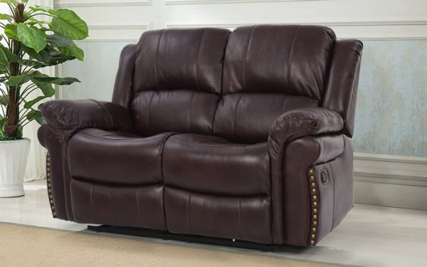 Margolis Two Seater Manual Recliner With Leatherette