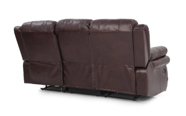 Margolis Three Seater Manual Recliner With Leatherette