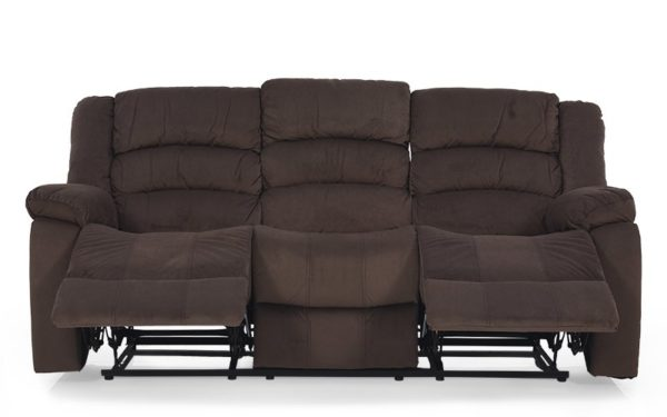 Plemmons Three Seater Manual Recliner in Fabric