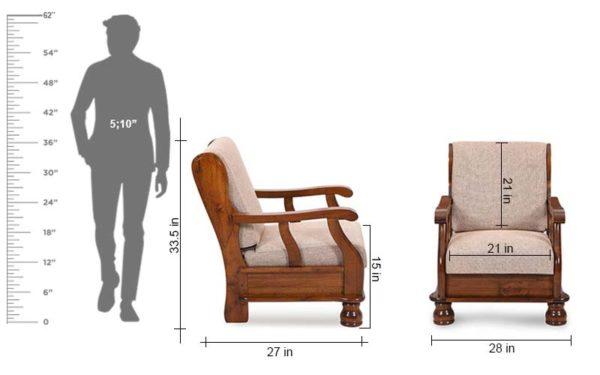 Rankin One Seater Sofa