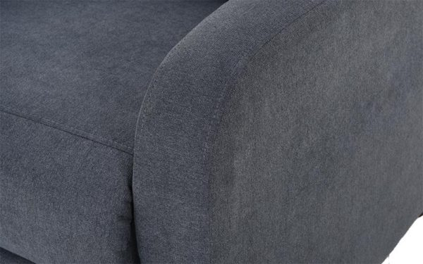 Todd Push Back Recliner in Fabric