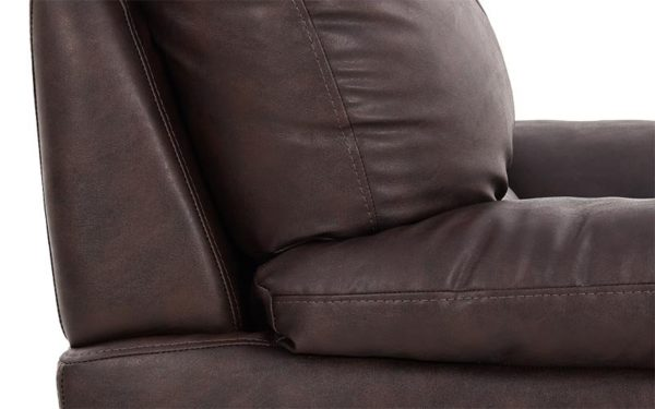 Travis Single Seater Sofa With Leatherette