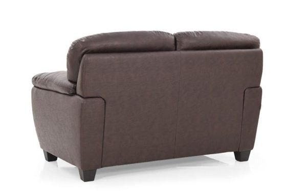 Travis Two Seater Sofa With Leatherette
