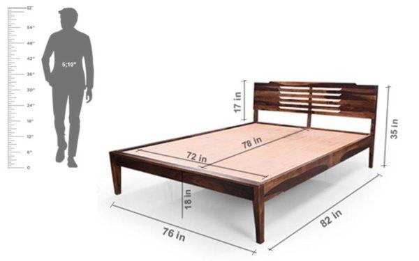 Uzo King Bed Without Storage