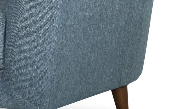 Vicari Single Seater Sofa In Fabric