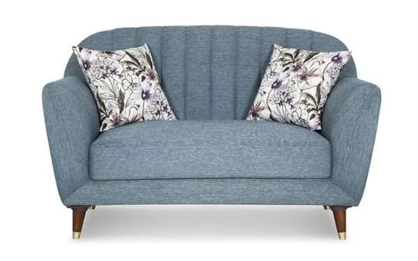 Vicari Two Seater Sofa In Fabric