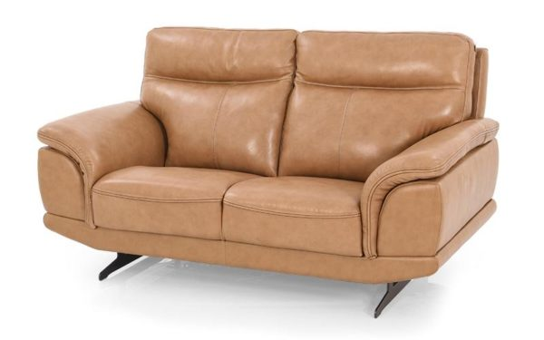 Willey Two Seater Sofa With Genuine Leather