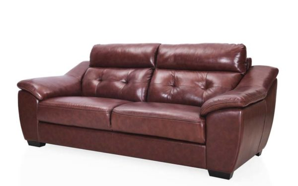Yael Three Seater Genuine Leather Sofa