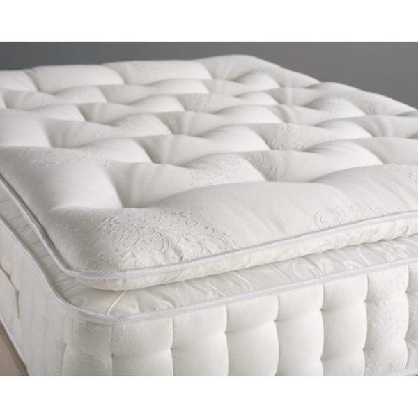 "K&M Pillow Top Pocketed 4ft. Size 6"" Thick Mattress"