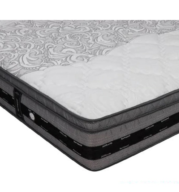 """K&M Euro Top Pocketed 4ft.+ Size 8"""" Thick Mattress"""