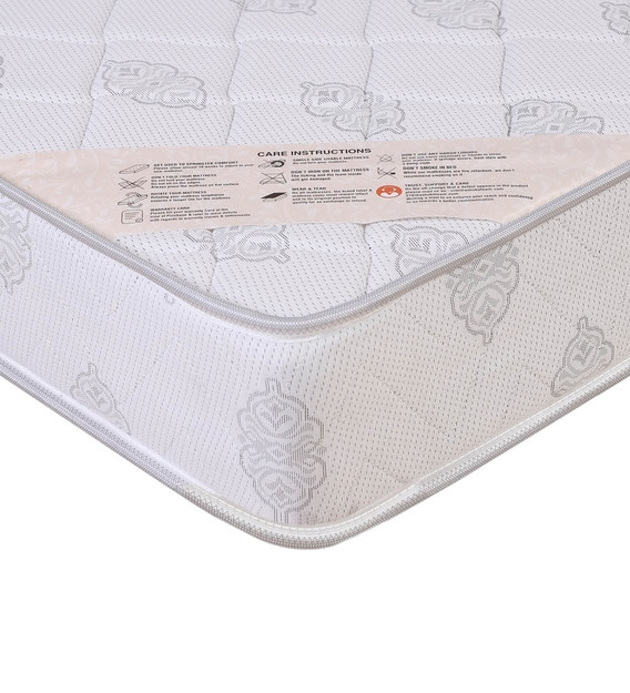 "K&M Ortho Care Rebounded with Coir 6 ft. Size 6"" Thick Mattress"